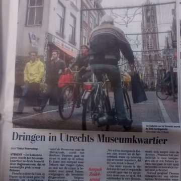 Weltevreden in de Telegraaf over herinrichting Zadelstraat